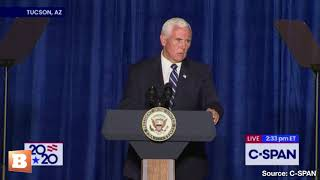 Mike Pence: 'The Truth Is, You Won't Be Safe in Joe Biden's America'