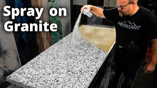 Spray on Countertops | Stone Coat Epoxy