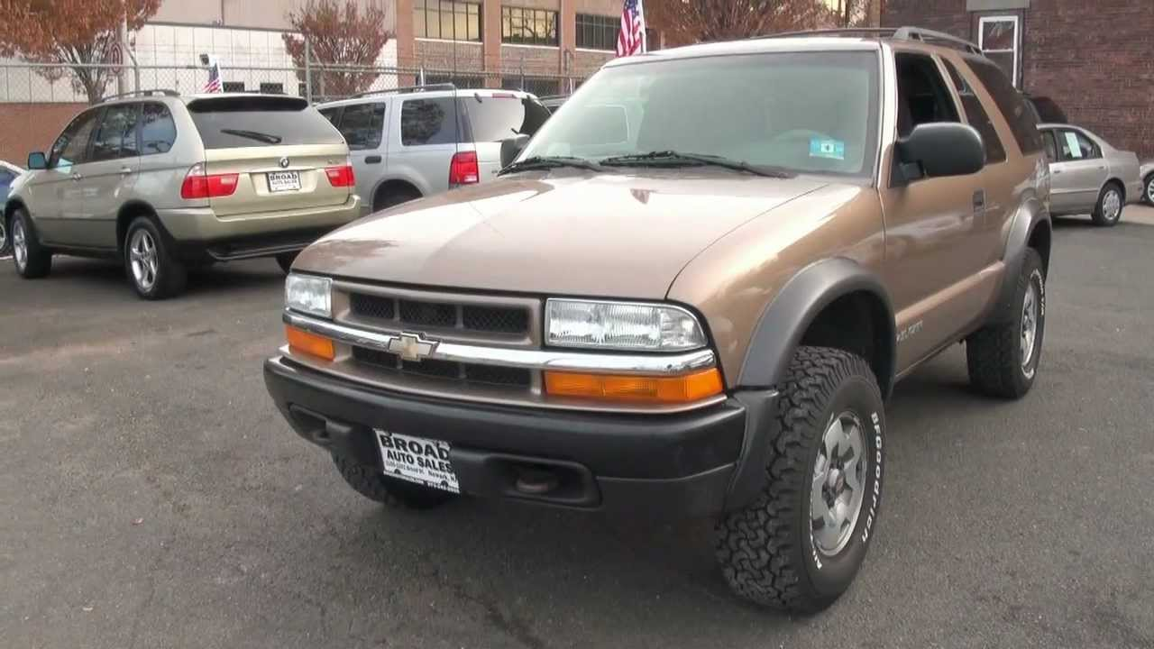 2002 chevy blazer 4x4 transmission
