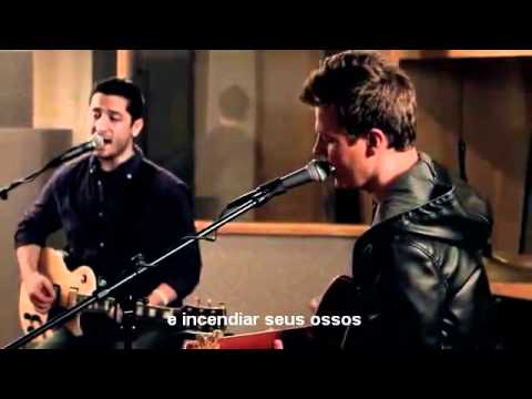Fix you - Coldplay Boyce Avenue & Tyler Ward (Legendado Pt)