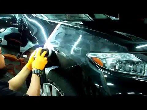 Nissan Murano Black + HD Polish