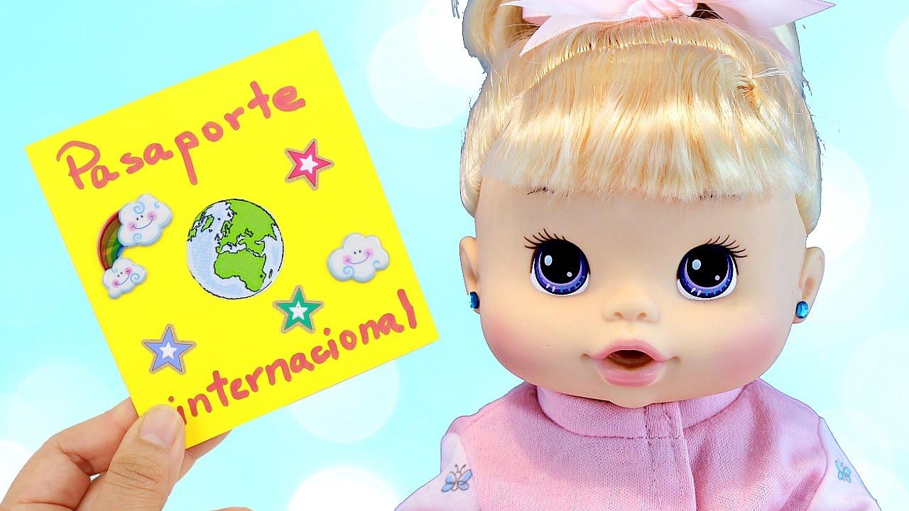 Cómo hacer un Pasaporte para Muñecas • Accesorios para muñecas ...