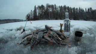 Шикарное открытие зимнего сезона рыбалки на льду 2020 2021