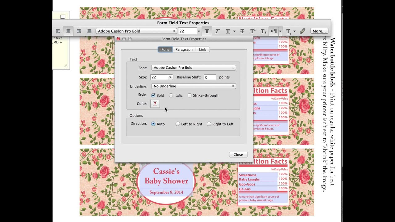 How To Change Font Colors In Adobe Reader