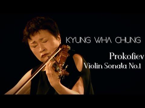 Kyung Wha Chung plays Prokofiev violin sonata No.1