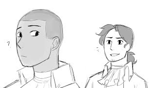 Aaron Burr Sir - Hamilton Animatic