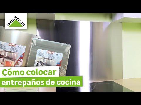 C mo colocar entrepa os de cocina leroy merlin youtube for Placas de cocina de gas leroy merlin