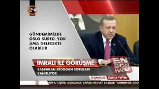 Erdoğan: Öcalan'a ev hapsi söz konusu değil