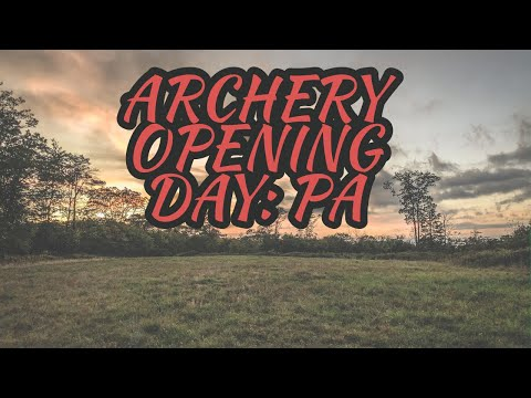 Antler Up Season 1: EP. 1 2019 ARCHERY OPENING DAY IN PA