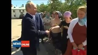 Путин чуть не врезал батюшке! СМОТРЕТЬ ВСЕМ!!!реакция путина!