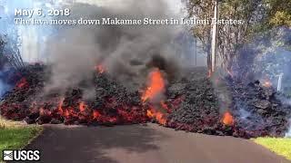 The Kīlauea Volcano Eruption is Threatening Leilani Estates on Hawai'i Island