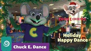chuck e s holiday happy dance   chuck e dance
