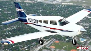 atp flight school takes delivery of factory new piper archers