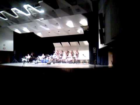 Lincoln Middle school Jazz Band at Tremper May 11