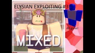 ROBLOX [] Exploiting At Mixed Cafe