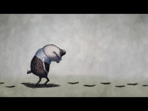 FOOTPRINTS by Academy-Award Nominated Animator Bill Plympton
