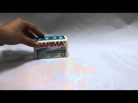 Мыло хозяйственное Sarma c отбеливающим эффектом