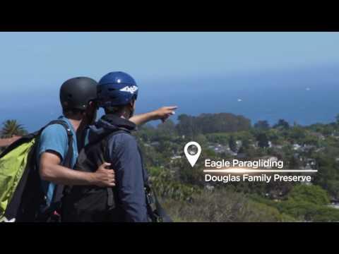 Santa Barbara, California: Hiking, Kayaking and Paragliding the 'American Riviera'