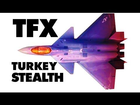 TFX TURKEY STEALTH FIGHTER!