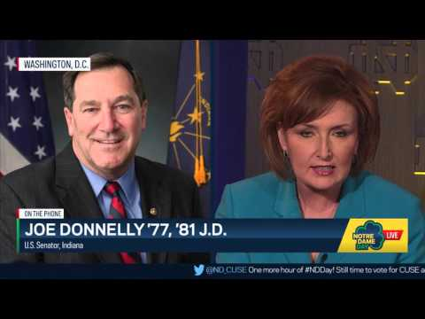 Sen. Joe Donnelly Interview - Notre Dame Day 2016