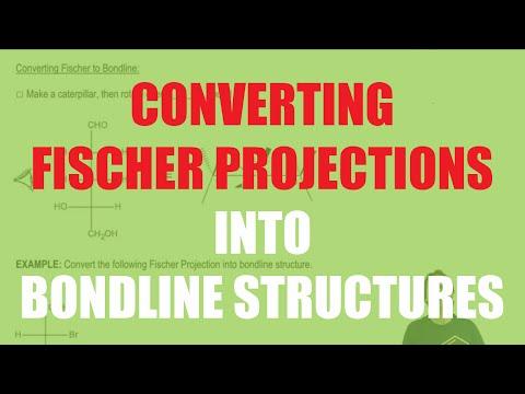 How To Convert Fischer Projections Into Bondline Structures