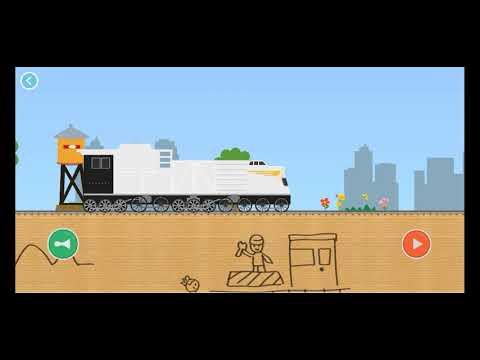 labolado brick train  | kids game | train game | helium gaming |