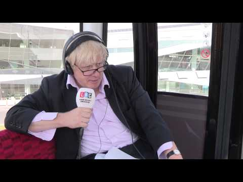 Ask Boris Live From The Cable Car: Watch In Full
