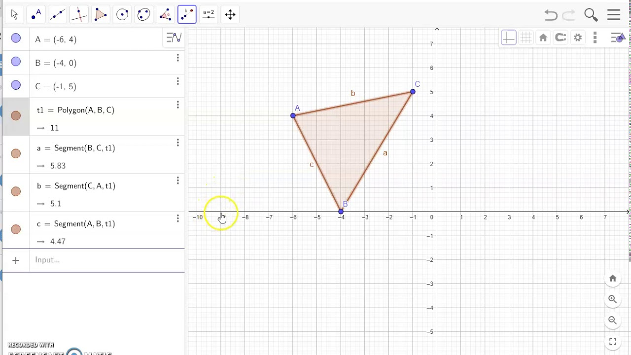 GeoGebra - Transformation part 2