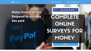 Hiving is another great way to complete online surveys for money. join today - https://goo.gl/ws58sh it's available 27 countries worldwide, so ther...