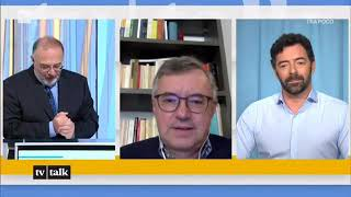 Alessandro Barbero su Mario Draghi a Tv Talk (01-05-2021)