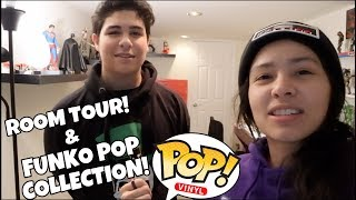 Room Tour Of My Nephews & Brothers Funko Pop Collection & Figures!