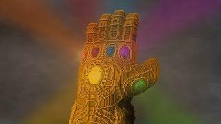 Marvel's Infinity Gauntlet - Minecraft Timelapse