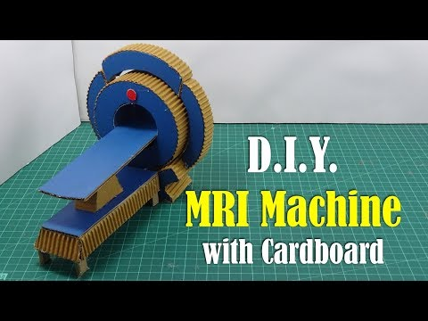 How to make MRI Machine with Cardboard - DIY