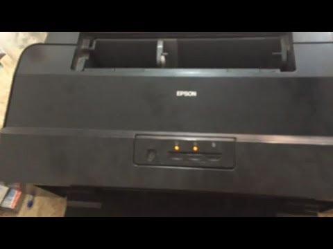 Epson L1800 Two Light blinking problem Repair