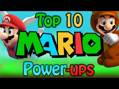 Top 10 Mario Power-ups