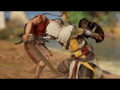 Assassin's Creed origins Simple stealth Brutal kllis Epic gameplay Xbox one(No Comentary)