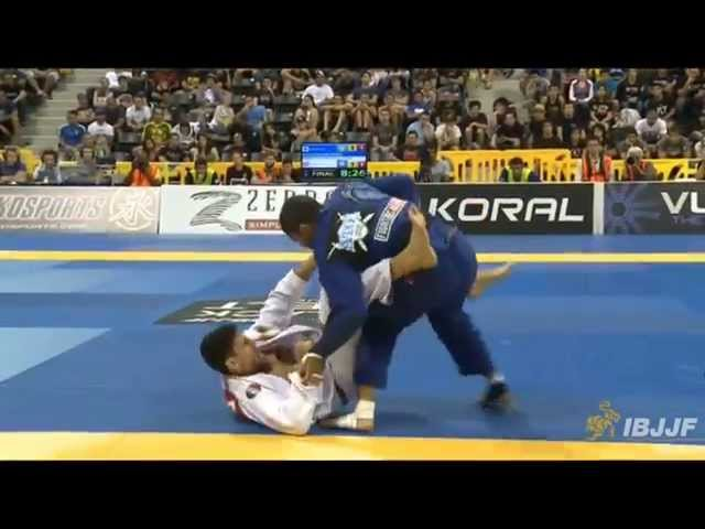 André Galvão Vs Felipe Pena IBJJF Worlds 2014 Final