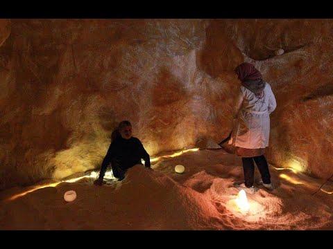 -كهوف الملح- في بنغازي واحة هدوء في مدينة افتقدت طعم الحياة الطبيعية  - 23:00-2021 / 3 / 1