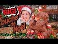 BIG! ブッシュドノエル!中身はお楽しみ!シェアして楽しい!簡単♥巨大クリスマスケーキ!【ロシアン佐藤】【料理レシピはParty Kitchen