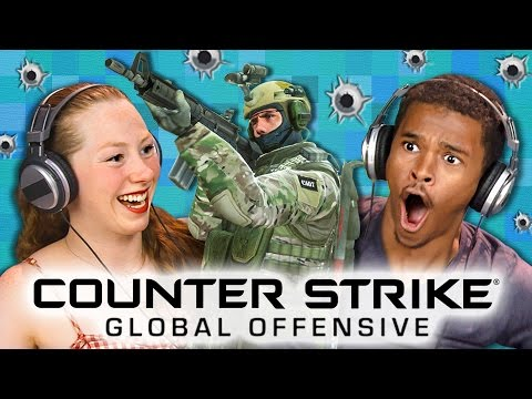 CS:GO - Counter Strike: Global Offensive (Teens React: Gaming) thumbnail