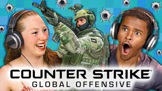 CS:GO - Counter Strike: Global Offensive (Teens React: Gaming)