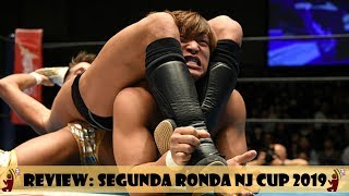 NJPW NEW JAPAN CUP 2019 SEGUNDA RONDA | REVIEW