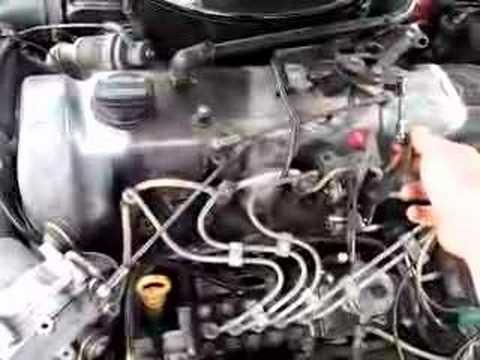 Darko 1985 300D turbo diesel W123 - engine bay - stelkic - YouTube