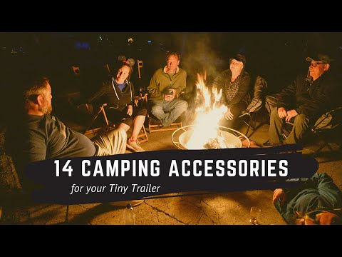 14 Useful Camping Accessories From Tiny Trailer RV Campers