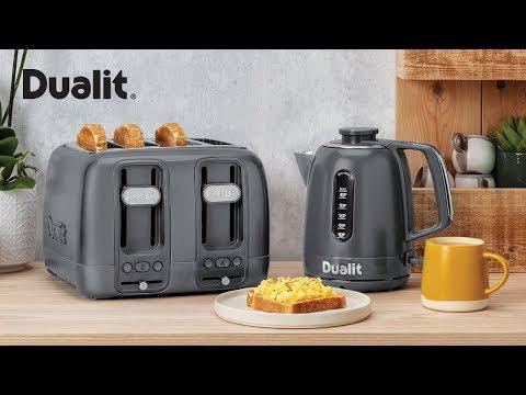 White Domus 4 Slot Toaster