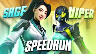 Viper/Sage SPEEDRUN (Full Series) Valorant