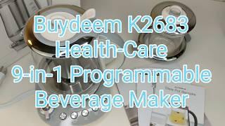 Buydeem K2683 Health-Care Beverage Tea Maker Kettle - Cooking Made Easy