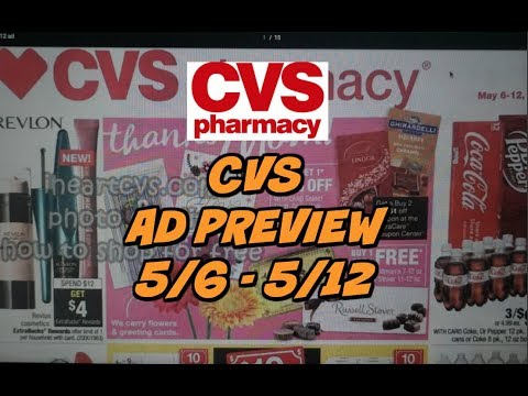 CVS EARLY AD PREVIEW  5/6 - 5/12| GREAT FREEBIES THIS WEEK!