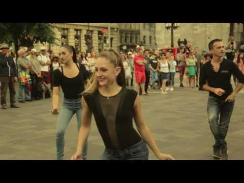 Studio Danza -  Flashmob 2016 Vieux-Port de Montréal.  Wedding proposal