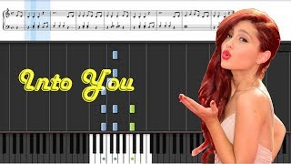 Ariana Grande - I'm so Into You Piano Cover // Lyrics in Description [Synthesia+Sheet Music]